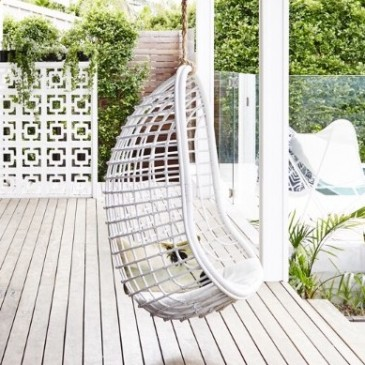 Byron Bay Hanging Chairs   White Coco Chair