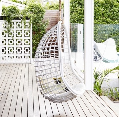 Byron Bay Hanging Chairs | White Coco Chair