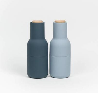 menu bottle grinders blue one girl studio one girl. Black Bedroom Furniture Sets. Home Design Ideas