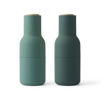 menu bottle grinders green