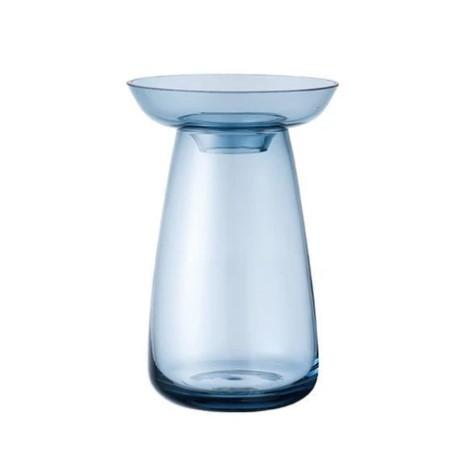 kinto aquaculture vase blue small
